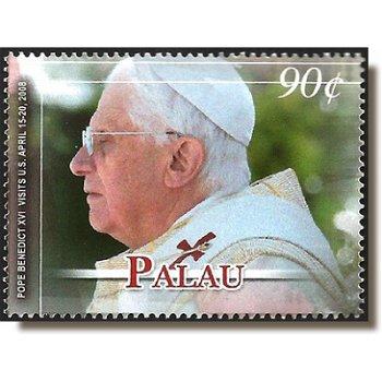 Papst Benedikt XVI. - Briefmarke postfrisch, Palau