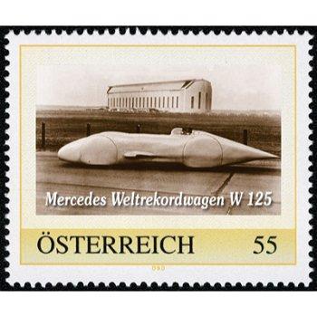 """Meine Marke """"Rennsport-Legenden: Mercedes W 125"""", Österreich"""