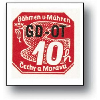 Sonderausgabe für Geschäftsdrucksachen - Briefmarke postfrisch, Katalog Nr.51, Böhmen und Mähren