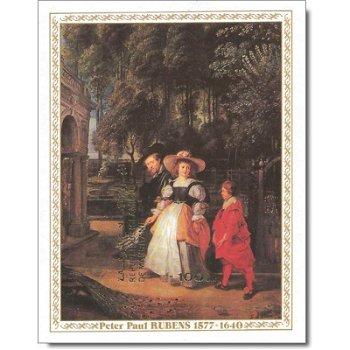 400. Geburtstag von Peter Paul Rubens - Briefmarken-Block ungezähnt postfrisch, Katalog-Nr. 594 Bl.