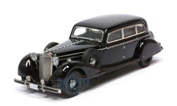 Modellauto:Mercedes-Benz 770 K Pullmann Limousine von 1938, schwarz(Signature Models, 1:43)