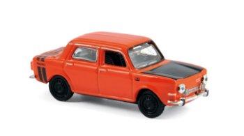 Modellauto:Simca 1000 Rallye 2 von 1974, rot(Norev, 1:87)