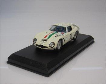 Modellauto:Alfa Romeo TZ 2 mit # 28 - Monza 1967 - , weiß(Best, 1:43)