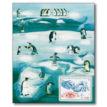 Pinguine - Briefmarken-Block postfrisch, TAAF