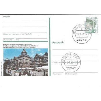 """6348 Herborn - Bildpostkarte """"Die tausendjährige Stadt"""""""
