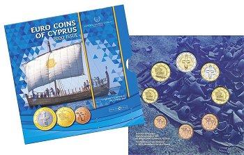 Schiff von Kyrenia - Kursmünzensatz 2020, Zypern