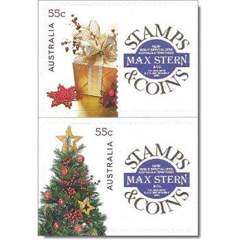 Weihnachten 2011 – Briefmarken postfrisch, Australien
