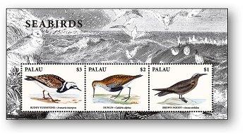 Vögel - Block postfrisch, Palau