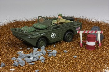 Militaria-Modell:U.S. Amphibian-Fahrzeug, Normandie 1944(Unimax/Forces of Valor, 1:32)