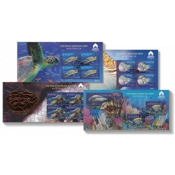 Meerestiere: 35. Internationale Asiatische Briefmarkenausstellung, Macau 2018 - 4 Block gestempelt,
