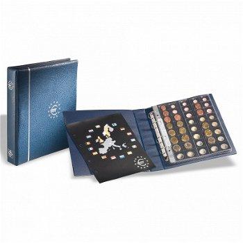 Vordruck-Münzalbum OPTIMA, für Euro-Kursmünzen, blau, Leuchtturm 336883