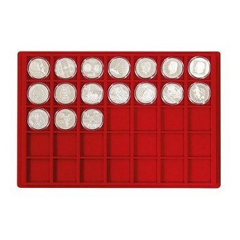 Lindner Tableau für 35 Münzen, Li 2329-35