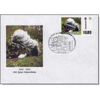 150 Jahre Lahntalbahn - Ersttagsbrief, Deutschland