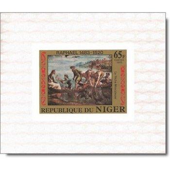 500. Geburtstag von Raffael - 8 Luxusblocks postfrisch, Katalog-Nr. 835-842, Niger