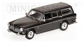 Modellauto:Volvo 121 Amazon Break von 1966, schwarz(Minichamps, 1:43)