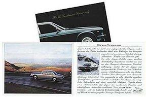 Prospekt::Jaguar - For the Gentleman Drivers only -