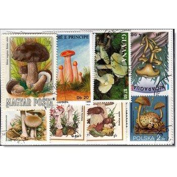 Briefmarken-Paket Pilze - 50 verschiedene Briefmarken