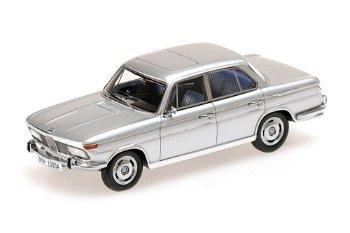 Modellauto:BMW 2000 A von 1962, silber(Minichamps, 1:43)