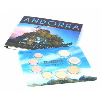 Euro-Kursmünzensatz 2015, Andorra