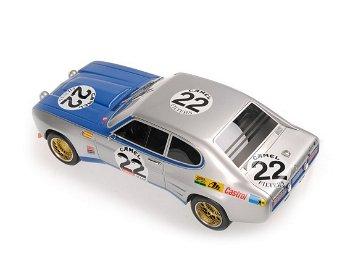Modellauto:Ford Capri I RS 2600 mit # 22 - SPA 1971 -(Minichamps, 1:18)