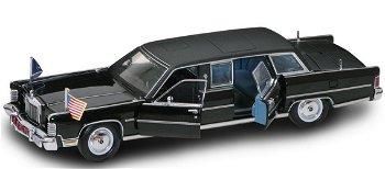 Modellauto:Lincoln Continental - Reagan Car - von 1972, schwarz(Yat Ming, 1:24)