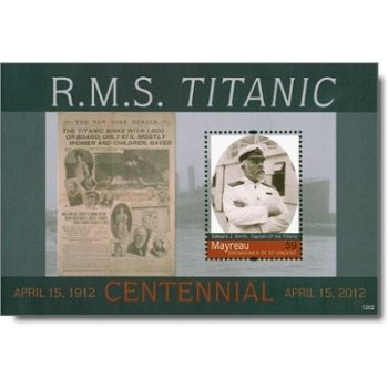Titanic - Briefmarken-Block postfrisch, St. Vincent und Grenadinen
