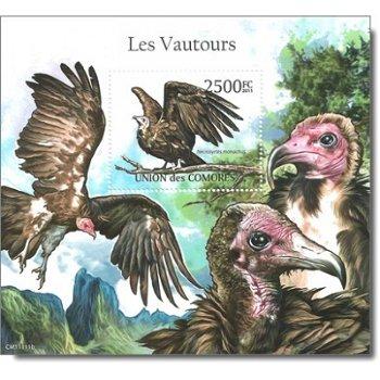 Geier - Briefmarken-Block postfrisch, Komoren