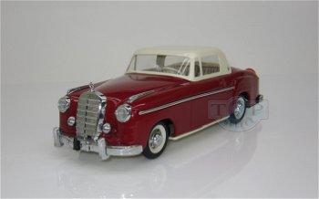 Modellauto:Rollfix 1085 - Mercedes-Benz Coupé 220 S, rot/weiß (Schuco/Classic)