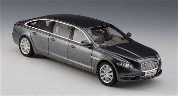 Modellauto:Jaguar Wilcox XJ X Limousine von 2013, grau-metallic(GLM, 1:43)