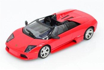 Modellauto:Lamborghini Murciélago Barchetta von 2004, rot(Minichamps, 1:43)