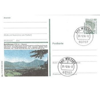 8182 Bad Wiessee - picture postcard