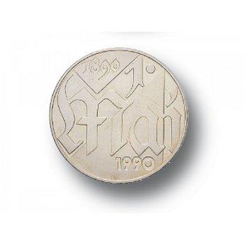 10-Mark-Münze 1990, 100 Jahre Tag der Arbeit, DDR
