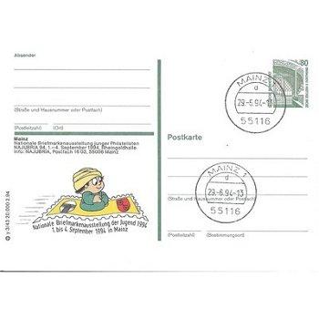 """6500 Mainz - Bildpostkarte """"Nationale Briefmarkenausstellung"""""""
