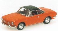 Modellauto: VW Karmann Ghia 1600 von 1966, orange(Minichamps 1:43)