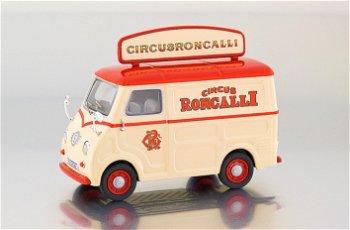 """Goggomobil TL 250 """"Circus Roncalli"""", rot/creme(Premium ClassiXXs, 1:43)"""