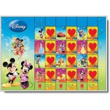 Disney Stars - Briefmarken-Kleinbogen postfrisch, Israel