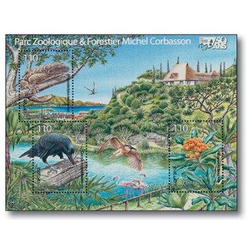 Traumlandschaft - Briefmarken-Block postfrisch, Neukaledonien