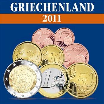Griechenland – Kursmünzensatz 2011