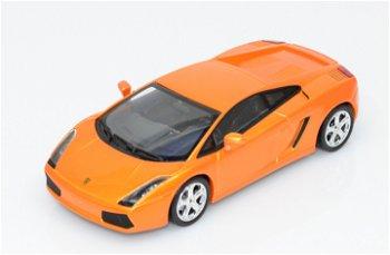 Modellauto:Lamborghini Gallardo von 2004, orange(Minichamps, 1:43)