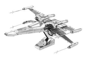 Metall-Bausatz:Poe`s X-Wing Fighter- Star Wars Episode VII -(Metal Earth)