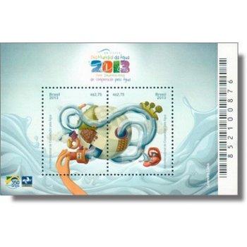 Internationales Jahr der Wasserkooperation - Briefmarken-Block postfrisch, Katalog-Nr. 4083-4084 Bl.