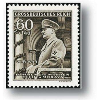 Der 55. Geburtstag - 2 Briefmarken postfrisch, Katalog-Nr. 136 - 137, Böhmen und Mähren