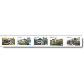 Nahverkehrsmittel – Briefmarken postfrisch, Katalog-Nr. 3699-3703, Australien