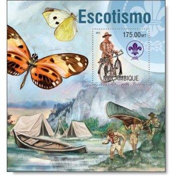 Pfadfinder - Briefmarken-Block postfrisch, Katalog-Nr. 6946, Mocambique