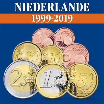 Niederlande - Kursmünzensätze alle Jahrgänge 1999-2019