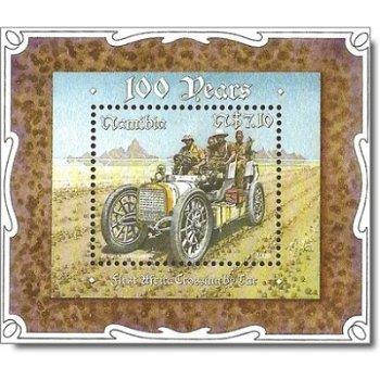 Afrikadurchquerung mit dem Auto – Briefmarke postfrisch, Namibia