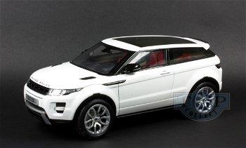 Modellauto:Range Rover Evoque von 2011, weiß(Century Dragon, 1:18)