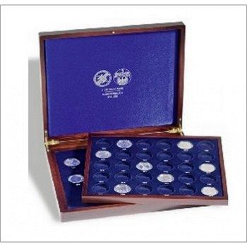 Die letzten vierzehn 5-DM-Silbermünzen mit Luxuskassette