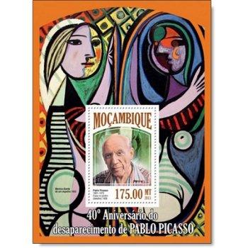 Pablo Picasso - Briefmarken-Block postfrisch, Katalog-Nr. 6876, Mocambique