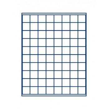 LINDNER Münzenbox, quadratische Vertiefungen 24mm, LI 2180M, Marine